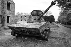 PT-76 på RAF Upwood Arkivfoton