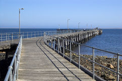 Pt. Victoria Jetty Royalty Free Stock Photo