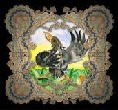 ptaków dziecka dancingowy rysunek s Obrazy Royalty Free