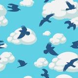 ptaków projekta elementu niebo Obraz Stock