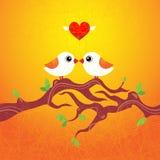 ptaków target1483_1_ Obrazy Royalty Free