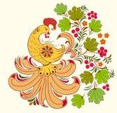 Ptak i jesień roślina Obrazy Stock