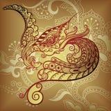 ptak kwiecisty Obrazy Stock