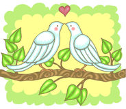 ptak miłość Obraz Royalty Free