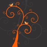 ptak rośliny Zdjęcie Royalty Free