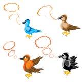 Ptak rozmowa ilustracji