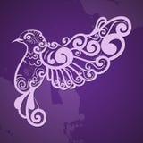 ptak stylizujący Obraz Royalty Free
