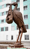 Ptak szczęście Zdjęcia Stock