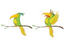 ptak tropikalny Ilustracja Wektor