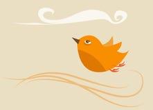 ptak uwalnia Obrazy Royalty Free