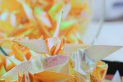 Ptak w origami zdjęcia stock