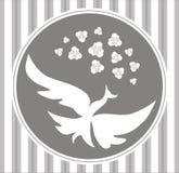 Ptak wektorowa rama Obrazy Royalty Free