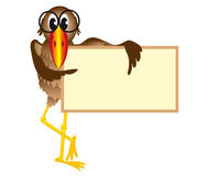 ptaka billboardu połowów Zdjęcia Stock