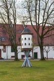 Ptaka gniazdeczko w parku Zdjęcia Stock