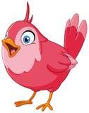ptaka karcianego powitania ilustracyjnego miejsca śpiewacki teksta wektor twój Zdjęcia Royalty Free