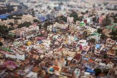 Ptaka oka widok Tiruchirappalli Zdjęcie Royalty Free