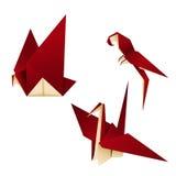 ptaka origami Zdjęcia Stock