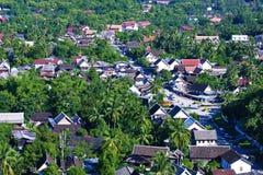 Ptaka widok Luang Prabang Obraz Stock