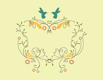 ptaka wiktoriański rabatowy mały Fotografia Stock