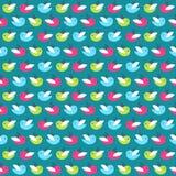 Ptaka wzór Zdjęcie Royalty Free