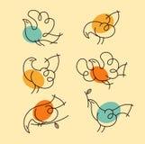 Ptaki Obraz Stock