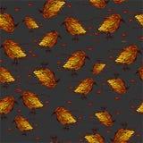 ptaki deseniują bezszwowego Zdjęcia Royalty Free