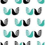 ptaki deseniują bezszwowego Fotografia Stock
