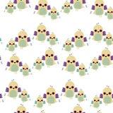 ptaki deseniują bezszwowy kafelkowego Zdjęcie Royalty Free