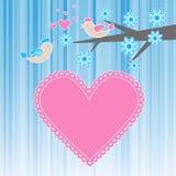 ptaki kochają dwa Zdjęcie Royalty Free