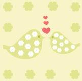 Ptaki w miłości Fotografia Stock