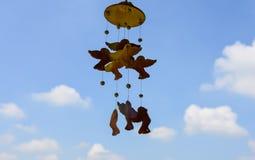 Ptaki w niebie Obrazy Stock
