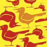 Ptaki wektorowi Zdjęcia Royalty Free
