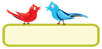 Ptaki z znakiem ilustracji