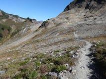 Ptarmigan Ridge Trail in fall Royalty Free Stock Image
