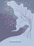 ptasi czereśniowy drzewo Zdjęcia Royalty Free