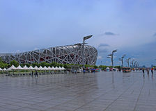 Ptasi gniazdeczko - Pekin obywatela stadium Zdjęcia Royalty Free