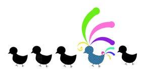 ptasi kolorowy oryginał Obrazy Stock