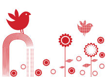 ptasi kwiaty Obrazy Royalty Free