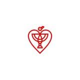 Ptasi logo Zdjęcie Stock
