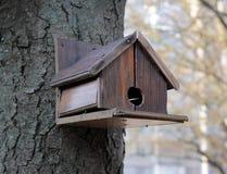 Ptasi Nestbox Zdjęcie Stock