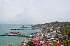 ptasi oka wyspy seachang widok Fotografia Royalty Free