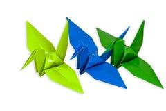 ptasi origami Zdjęcie Royalty Free