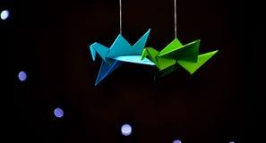 Ptasi origami Obrazy Royalty Free