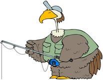 ptasi połów ilustracja wektor