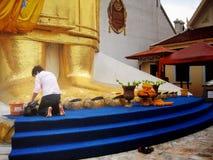 Ptasi sprzedawca w Tajlandia Obraz Royalty Free