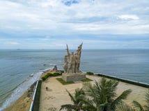 Ptasi widok Lingaojiao wyzwolenia parkï ¼ ŒHainan, Chiny zdjęcie royalty free