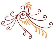 ptasia dekoracyjna ikona ilustracja wektor