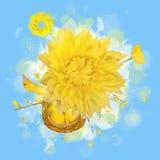 ptasia grafiki gniazdeczka wiosna royalty ilustracja