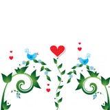 ptasia miłość Fotografia Royalty Free