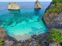Ptasiego oka widok brzęczenia wyspy, Tajlandia Obraz Royalty Free
